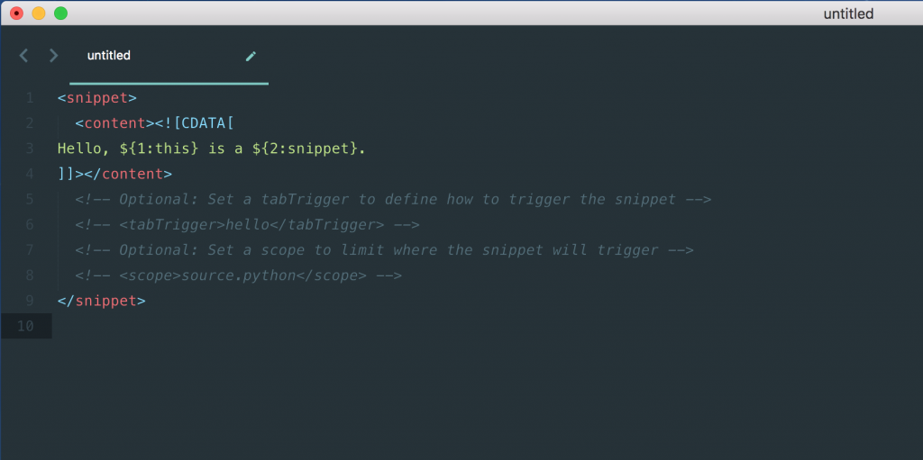 snippet-template-sublime-text